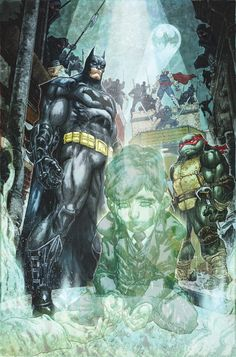 BATMAN/TEENAGE MUTANT NINJA TURTLES #4: DC Comics FULL MARCH 2016 Solicitations | Newsarama.com