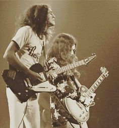 Allen and Gary Great Bands, Cool Bands, Allen Collins, Common People, Lynyrd Skynyrd, Soul Music, Lineup, Guitar, 1970s