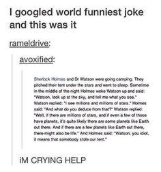 Sherlock Holmes Jokes