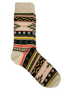 ASOS | Aztec Pattern Socks $8.80