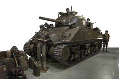 The tanks fielded by both sides in 1944 were vastly more capable and had gained formidable...
