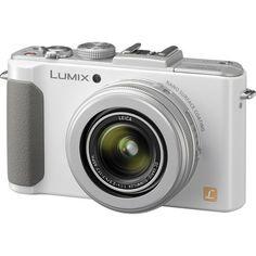 Panasonic LUMIX DMC-LX7W 10.1 MP Digital Camera with 7.5x Intelligent zoom and 3.0-inch LCD - White