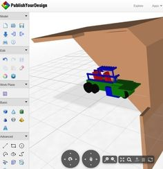 Free Web Based 3D Modeling Software: Publish Your Design