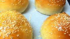 This recipe can be used to make either hamburger buns or hot dog buns. My husband says they are 'top of the line.' Nice and soft.