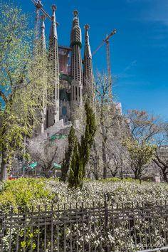 Sagrada Familia - Barcelona, Spain - Luxury Travel Blog #travelblog #travel #barcelona