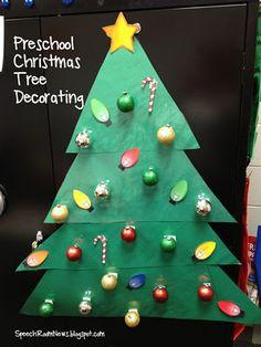 O Christmas Tree, Preschool Christmas Tree.