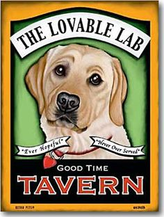 Labrador Retriever Gifts: Yellow Lab Art Prints, Posters, Paintings