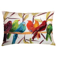 Bright contrast Color and Birds,  Both Big trends this Spring!