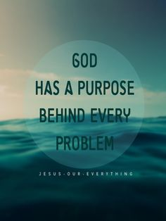Romans 8:28 ~ God works all things out for our good and His glory...