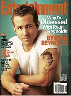 Entertainment Weekly, Ryan Reynold, Tracy Morgan, The Voice, June 2011~NEW