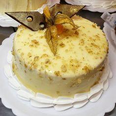 Torta baba de moça com nozes. #confeitariapolos #goiania