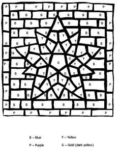 Coloriage magique : différencier chiffres de 0 à 3 et