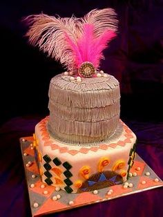 Una tarta muy años 20! / A very 1920s wedding cake!