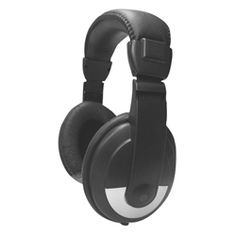Avid School Headphone with Padded Headband ~  designed with large noise reducing earcups to help block out sounds around users. The headband is fully adjustable with soft padding to ensure a comfortable fit. It is equipped with a 6 foot cord for better mobility and has a standard 3.5mm adapter.