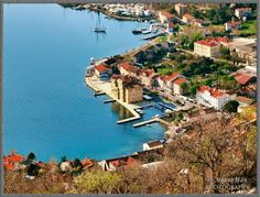 Bakar, Croatia - always drive by this cute little town on our way to Rijelka
