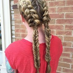 This style is the new braid!