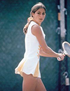 Chris Evert - Tennis Fashion Summer 2012