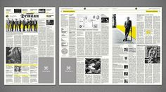 Design and layout giudelines of the corporate newspaper for Raiffeisen Bank.