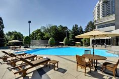 The Westin Prince Toronto (900 York Mills Road) Nestled on 15 acres of scenic parkland, and a 16-minute drive from the city centre of Toronto, this hotel features a seasonal outdoor pool. The accommodation enjoys a flat-screen cable TV with pay-per-view channels. #bestworldhotels #hotel #hotels #travel #ca #toronto