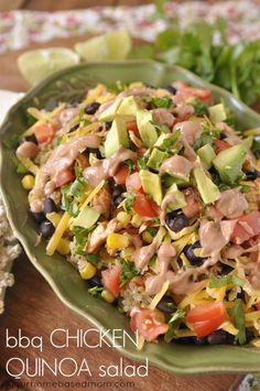 BBQ Chicken Quinoa Salad - your homebased mom