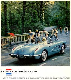 Chevrolet Corvette 1959 Edition - Mad Men Art: The 1891-1970 Vintage Advertisement Art Collection