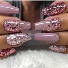 In seek out some nail designs and ideas for your nails? Here is our list of must-try coffin acrylic nails for stylish women. Summer Acrylic Nails, Best Acrylic Nails, Hair And Nails, My Nails, Nagellack Trends, Fire Nails, Dream Nails, Stylish Nails, Trendy Nails