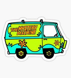 Scooby Doo stickers featuring millions of original designs created by independent artists. Stickers Cool, Preppy Stickers, Cartoon Stickers, Tumblr Stickers, Printable Stickers, Laptop Stickers, Planner Stickers, Homemade Stickers, Chalk Drawings