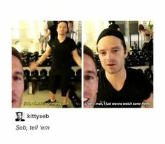 I LOVE these videos of Sen and his friends at the gym they give me liiiife
