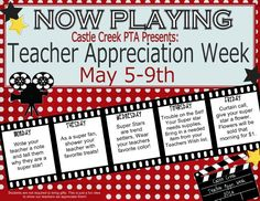 teacher appreciation week ideas for every day teacher appreciation