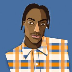 freelance illustrator dale edwin murray hip hop rapper complex media magazine illustration