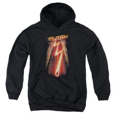 The Flash - Flash Ave Youth Pull-Over Hoodie