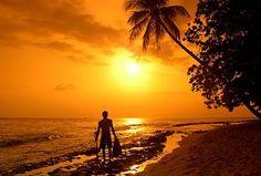 Sunset in Puerto Rico