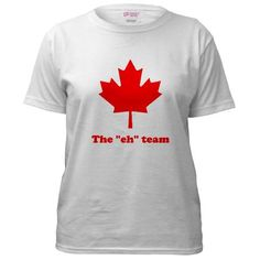 Canada day - Mini World Cup? Canada Day Shirts, Kids Clothing Canada, Canada Day Party, I Am Canadian, Team T Shirts, Shirt Designs, Classic T Shirts, T Shirts For Women, Silhouette Projects