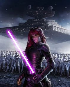 Mara Jade Skywalker was, during different times in her life, an Emperor's Hand, a smuggler, and later a Jedi Master who sat upon the Jedi High Council. She was raised as a servant to Emperor Palpatine and became a high-level Force-using operative. As an Emperor's Hand, Jade carried out the Emperor's bidding, killing Rebels and corrupt Imperials alike with cold professionalism,even as a young woman.