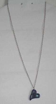 """Halskette """"corazon de Pluton"""" Halsschmuck Pendant Necklace, Earrings, Jewelry, Hearts, Neck Chain, Heart, Schmuck, Ear Rings, Stud Earrings"""