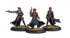 Cygnar: Black 13th Gun Mage Strike Team