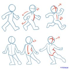 drawing poses | Step 5. How to Draw Action Poses