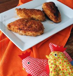 Oven Fried Chicken Breasts from Amanda's Cookin' @amandaformaro