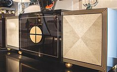 A collection of luxurious credenzas and sculptural designer sideboards in a spectacular range of high end styles and finishes. Art Deco Furniture, Luxury Furniture, Furniture Design, Cabinet Furniture, Modern Furniture, Luxury Home Decor, Luxury Interior, Dinning Room Buffet, Dining