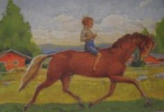 Postcard travelled km miles) in 9 days (from Finland to Ukraine): Picture of the Finland artist Rudolf Koivu=) Horse Paintings, Horse Art, Livestock, Finland, Equestrian, Horses, Artists, Texture, Portrait