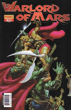 Warlord Of Mars # 13 Dynamite Entertainment