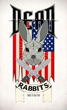 Dead Rabbits Rabbits, Sonic The Hedgehog, Fictional Characters, Art, Art Background, Bunnies, Kunst, Rabbit, Performing Arts