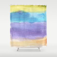 watercolor abstract painting Shower Curtain by humble art by dana&reese - $68.00 Painting Shower, Watercolor Paintings Abstract, Curtains, Prints, Art, Art Background, Blinds, Kunst, Performing Arts
