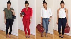 {MEEK~N~MILD | By Shirley B. Eniang: HOW I WEAR | Skinny Jeans} nice outfit ideas for curvy girls