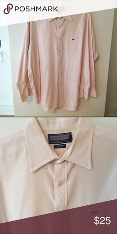 Vineyard Vines Whale shirt button down L Vineyard Vines light pink classic whale shirt. Size L. Bundle pricing available Vineyard Vines Shirts Casual Button Down Shirts