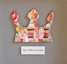Personalised Framed Princess Crown Collage Picture