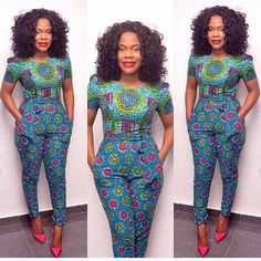 Checkout This Beautiful Ankara Jumpsuit Style For Ladies - DeZango Fashion Zone
