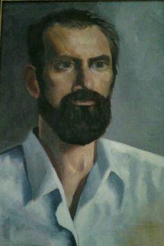 "guido.14""x12"".oil on canvas. Oil On Canvas, Paintings, Portrait, Art, Art Background, Paint, Headshot Photography, Painting Art, Kunst"