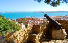 Castelo de São Jorge - Lisboa - Portugal  Com Bruna, Carla , Vitor Novembro 2012