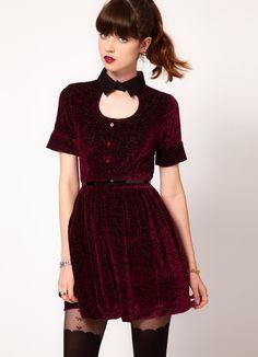 Бархатное платье 6